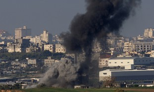 Gazans fire 90 rockets; cabinet approves reserve call-up