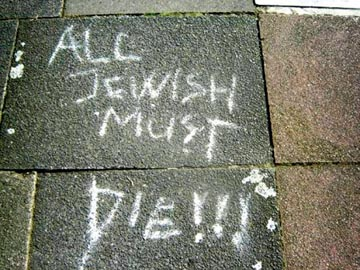 Israel alarmed at growth of anti-Semitism in the diaspora