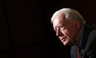 Who is Jimmy Carter but a thorn in Israel's side?