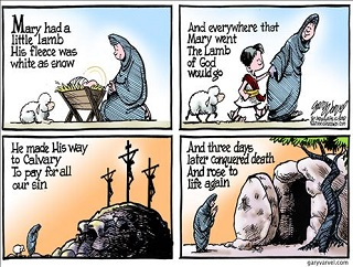 Cartoon: He is risen