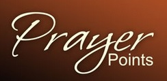 This week's prayer points