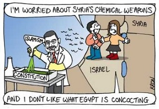 Cartoon: Chemical weapons