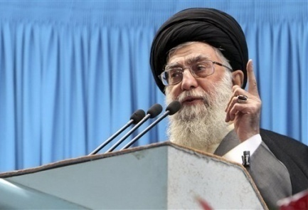 Iran's supreme leader backs 'holy intifada' to destroy 'cancer' Israel