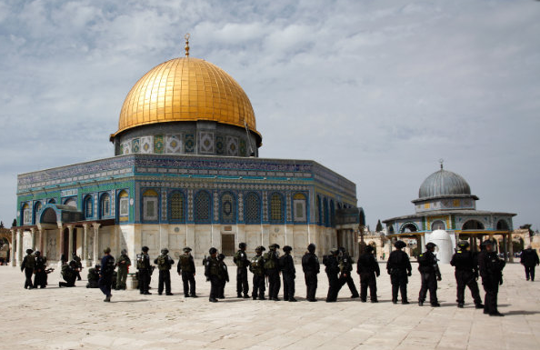 Israel Warns Against Religious War on the Temple Mount