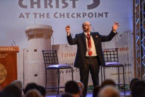 Christ at the checkpoint still demonizing Israel