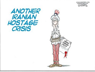 Cartoon: Iranian hostage crisis