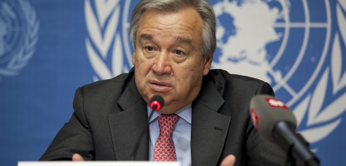 "UN Chief: ""Denial of Israel's Right to Exist is Anti-Semitism"""