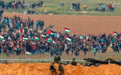 Walk the Gaza Border with Earl Cox