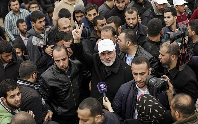 Hamas leader: Protests mark the beginning of our return to 'all of Palestine'