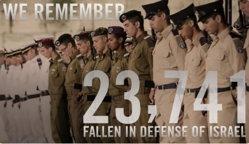 Israel honors those who fell in battle and at the hands of terrorists