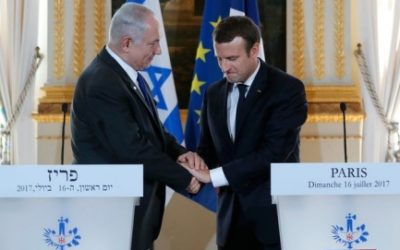 'Anti-Zionism is a new form of anti-Semitism,' French leader says
