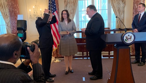 Iraq War Veteran Sworn in as US Anti-Semitism Envoy