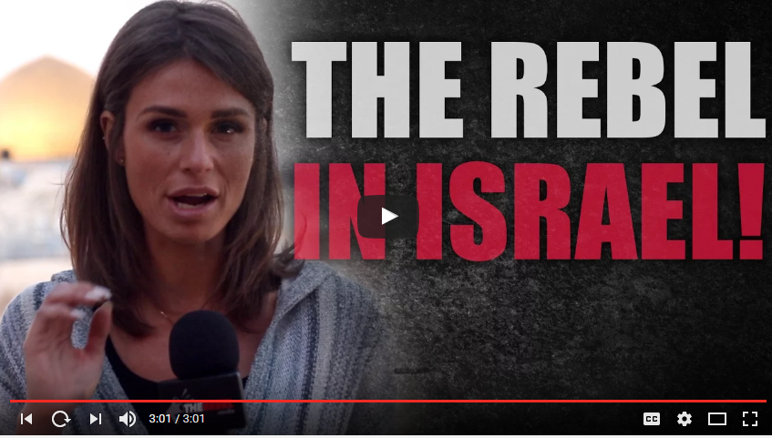 Video: Canadian Journalist Faith Goldy goes to find the truth in Israel
