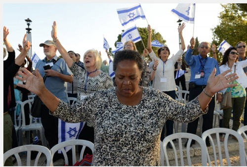 Millions of Christians and Jews Join Day of Prayer for Peace of Jerusalem [PHOTOS]
