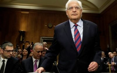 Senate approves David Friedman as Israel ambassador