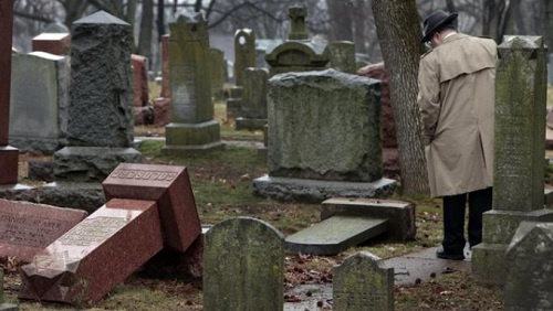ADL Report: Antisemitic Incidents In US Sharply Increased in 2016