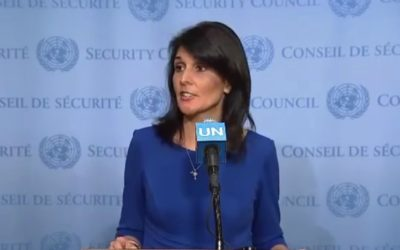 Haley: Time to say 'enough is enough' to Hamas