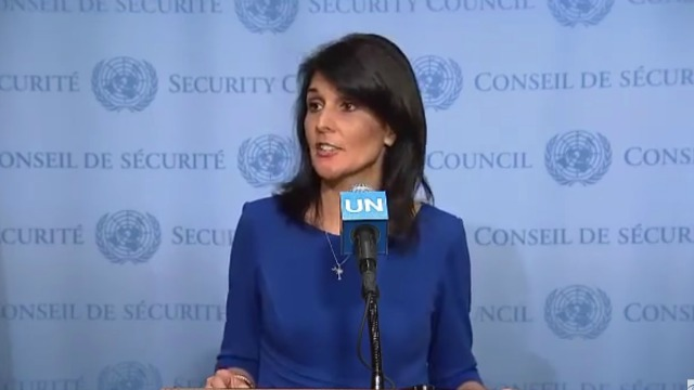 US Ambassador to the UN comes out swinging on Israel bias
