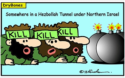Cartoon: Lebanon's Tunnels