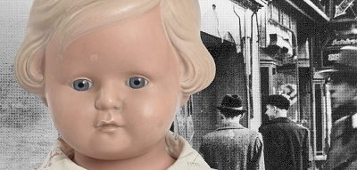 A girl's doll is a poignant reminder of the horrors of Kristallnacht