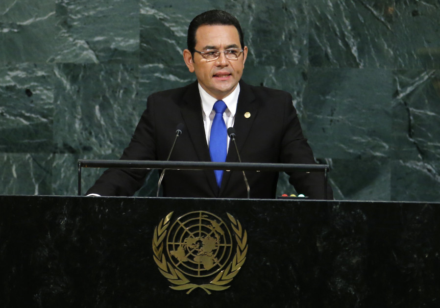 Guatemalan President Arrives to Reopen Embassy in Jerusalem