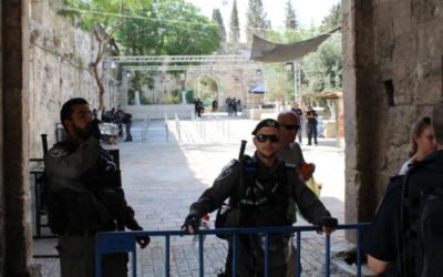 77% of Israelis see removal of metal detectors on Temple Mount as capitulation