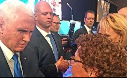Bereaved Israeli mother welcomes Pence's 'words of hope' at pro-Israel conference