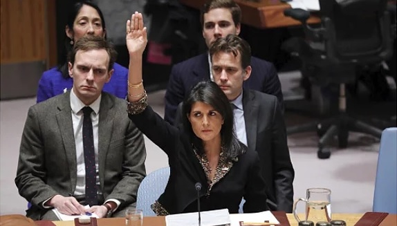 128 Nations Thumb Nose at Trump's Jerusalem Recognition