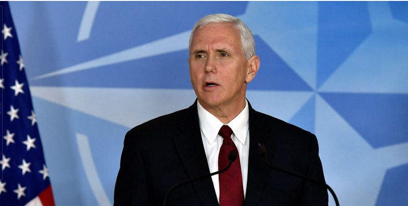 Pence urges EU to pull out of nuclear deal, says Iran planning 'new Holocaust'