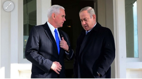 Vice President Pence heading to Israel