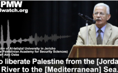The great Palestinian dream: 'To liberate Palestine from the river to the sea'