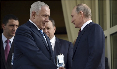 NETANYAHU AFTER PUTIN MEETING: IRAN WANTS THE 'LEBANONIZATION' OF SYRIA