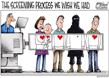 Cartoon: Screening Process