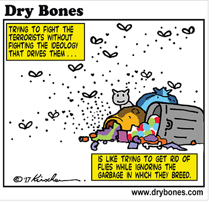 Cartoon: Dry Bones