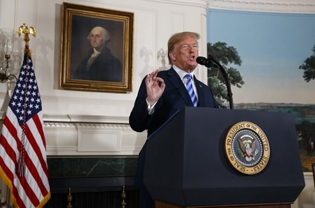 American Jewish Organization Applauds President Trump's  Historic Decision on JCPOA