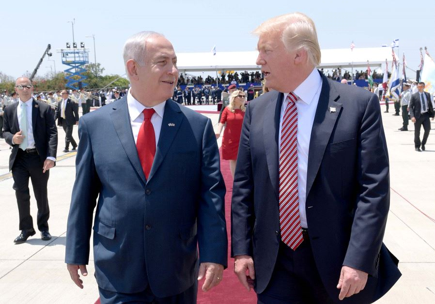 Trump's historic first day in Israel