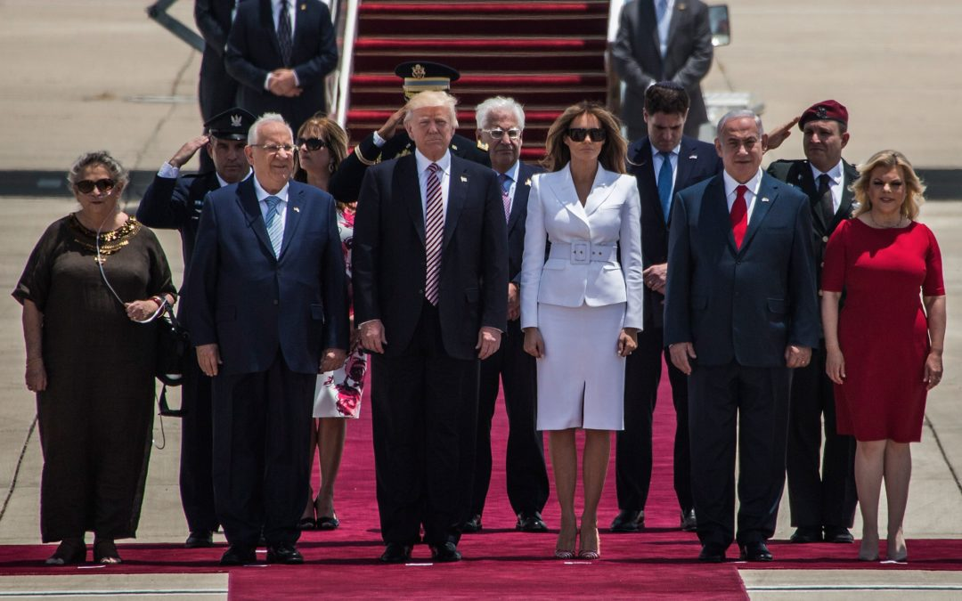 Trump Lands in Israel and Makes History