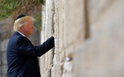 Trump offers blessings to Jewish people for Yom Kippur