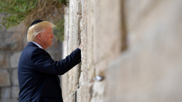 Skyrocketing support for Trump among Israelis