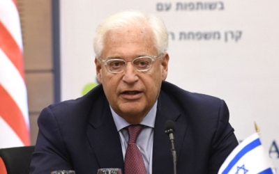 Ambassador David Friedman: Republicans support Israel more than Democrats