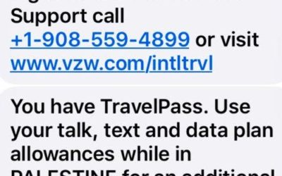 Why does America's largest cell carrier call Israel 'Palestine?'