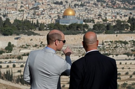 Prince William Refused Meeting with Jerusalem Mayor
